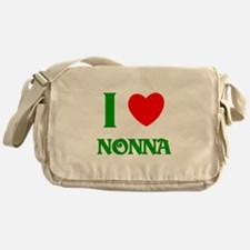 I Love Nonna Messenger Bag