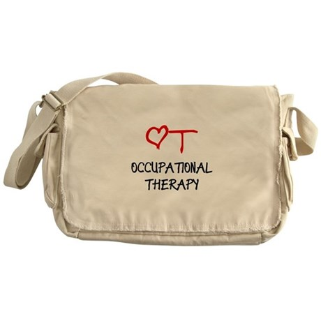 Occupational Therapy Heart Messenger Bag