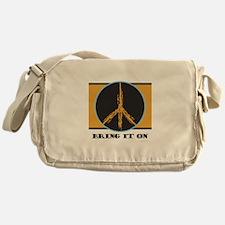Say Your Peace Messenger Bag