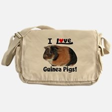 I Love Guinea Pigs #04 Messenger Bag