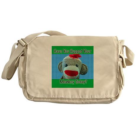 Hugged Monkey? Messenger Bag