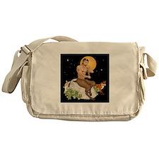 Satyr Playing Pan Pipes Messenger Bag
