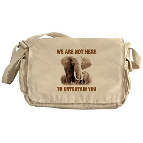 We Are Not Here Messenger Bag