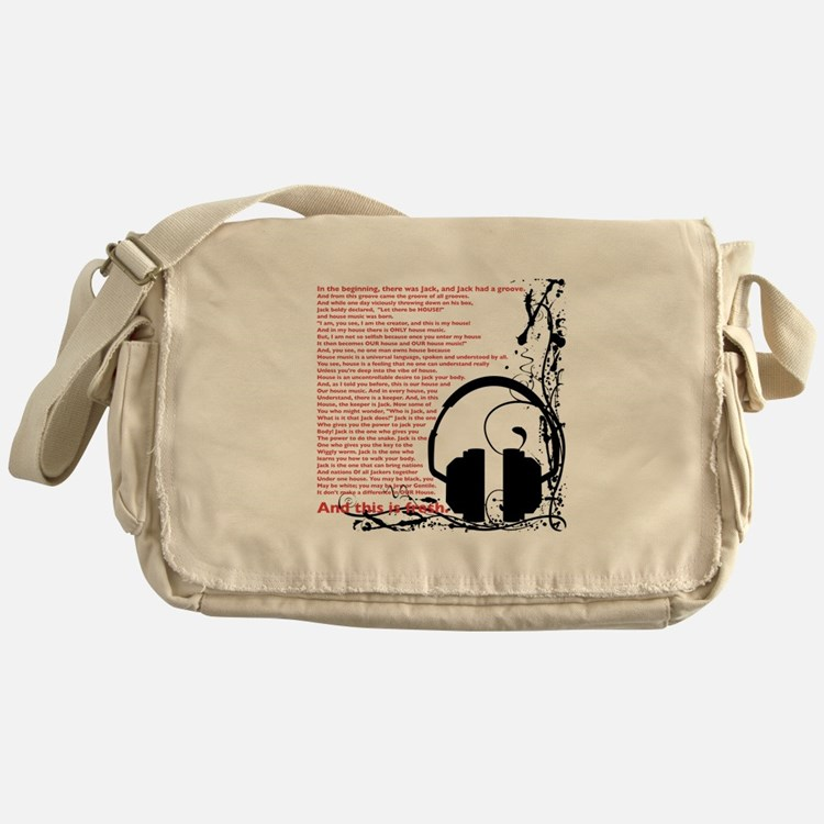 In the beginning... Messenger Bag