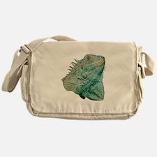 Iguana Lizard Messenger Bag