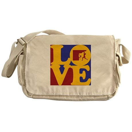 Climbing Love Messenger Bag