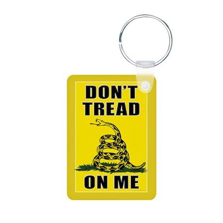 Dont Tread On Me Aluminum Photo Keychain