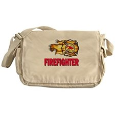Fire Department Firefighter Messenger Bag