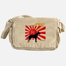 Year of the Pit bull Messenger Bag