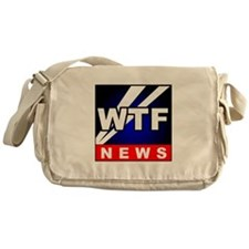WTF News Messenger Bag
