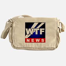 WTF News Messenger Bag