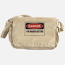 Danger - I'm Radio Active Messenger Bag