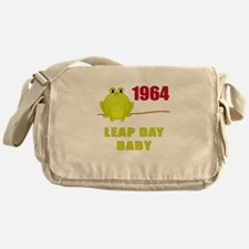 1964 Leap Year Baby Messenger Bag