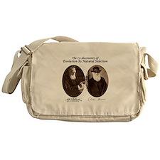 Wallace and Charles Darwin Messenger Bag