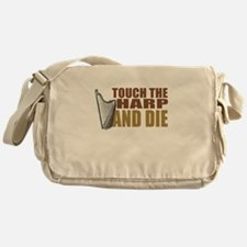 Touch/Die Harp Messenger Bag