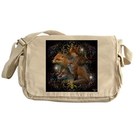 Foxes Messenger Bag