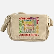 Team General Hospital Messenger Bag