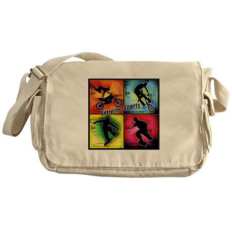 Extreme Sports Messenger Bag