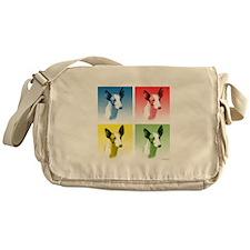 Ibizan Pop Art Messenger Bag