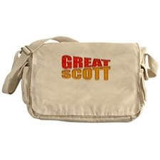 Back To The Future Messenger Bag