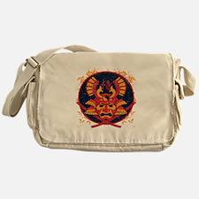 Samurai Stamp Messenger Bag