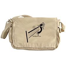 Kokopelli Volleyball Player Messenger Bag