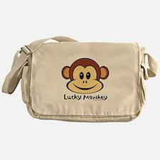 Lucky Monkey Messenger Bag