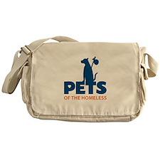 Pets of the Homelss Messenger Bag