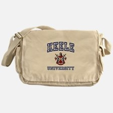 KEELE University Messenger Bag