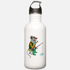 Fishing Mouse Sports Water Bottle