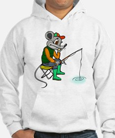 Fishing Mouse Hoodie