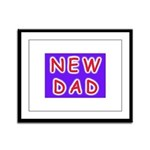 For new fathers, a NEW DAD Framed Panel Print