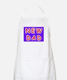 For new fathers, a NEW DAD BBQ Apron