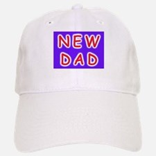 For new fathers, a NEW DAD Baseball Baseball Cap