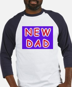 For new fathers, a NEW DAD Baseball Jersey
