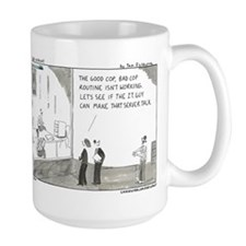 Good Cop, Bad Cop Ceramic Mugs
