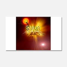 Om Namah Shivaya Car Magnet 20 x 12