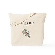 Cute Peace corps Tote Bag