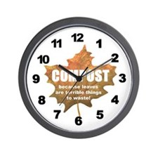 Composting Wall Clock