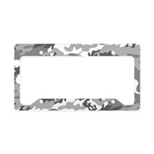 Urban Arctic Camo License Plate Holder