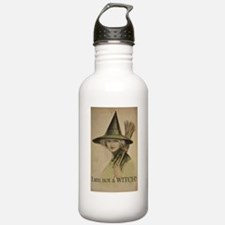 I am not a WITCH! Water Bottle