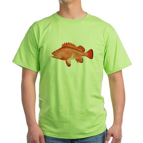 Red Rockfish Green T-Shirt