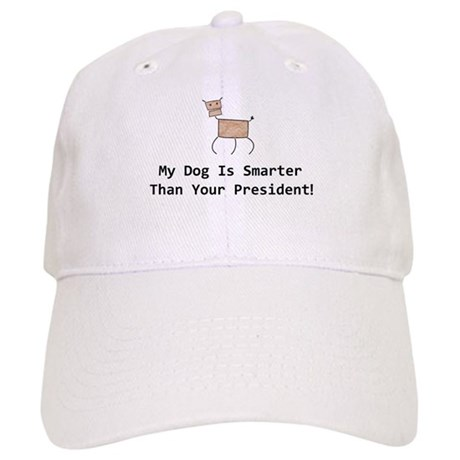 My dog is smarter than your Cap