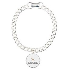 My dog is smarter than your Charm Bracelet, One Ch