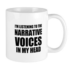 Narrative Voices In My Head Mugs