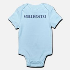 Ernesto Blue Glass Infant Bodysuit