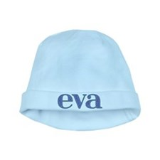 Eva Blue Glass baby hat