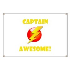 Captain Awesome! Banner