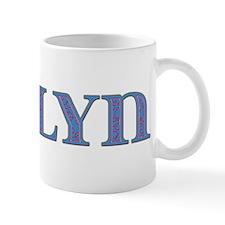 Evelyn Blue Glass Mug