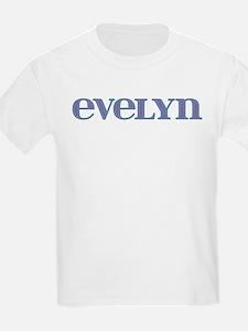Evelyn Blue Glass T-Shirt